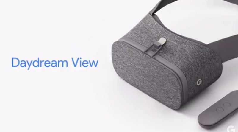 Google Daydream View headset from Google.
