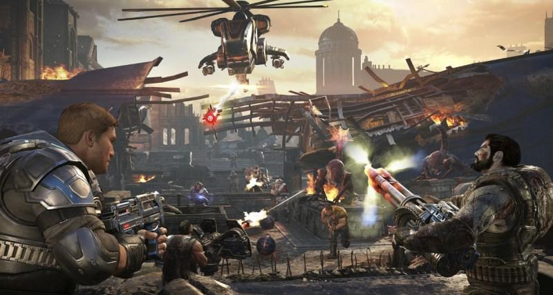 Horde 3.0 mode in Gears of War 4.