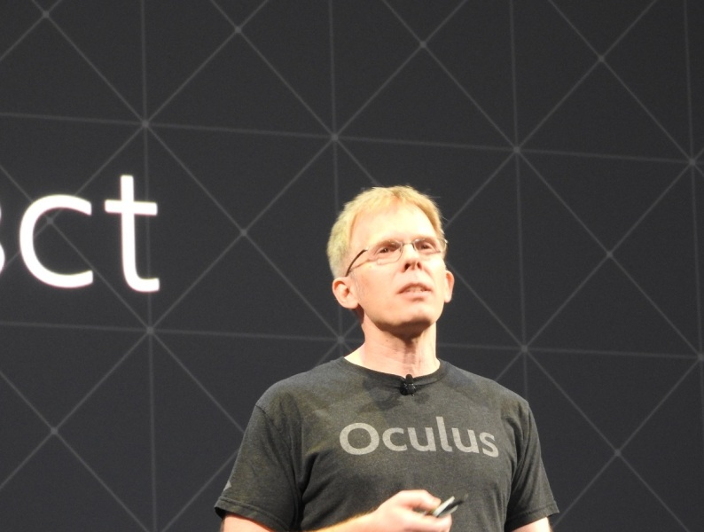 John Carmack, CTO of Oculus.