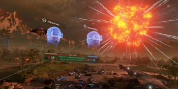 Landfall brings old-fashioned top-down shooter action to Oculus Rift and VR