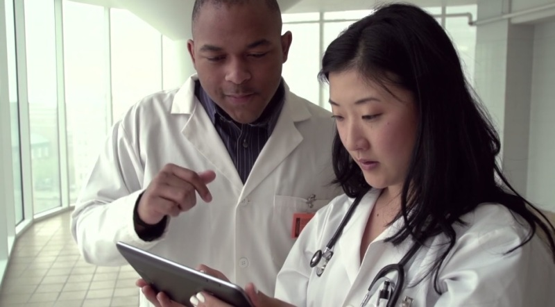 Level Ex lets doctors train on mobile devices.