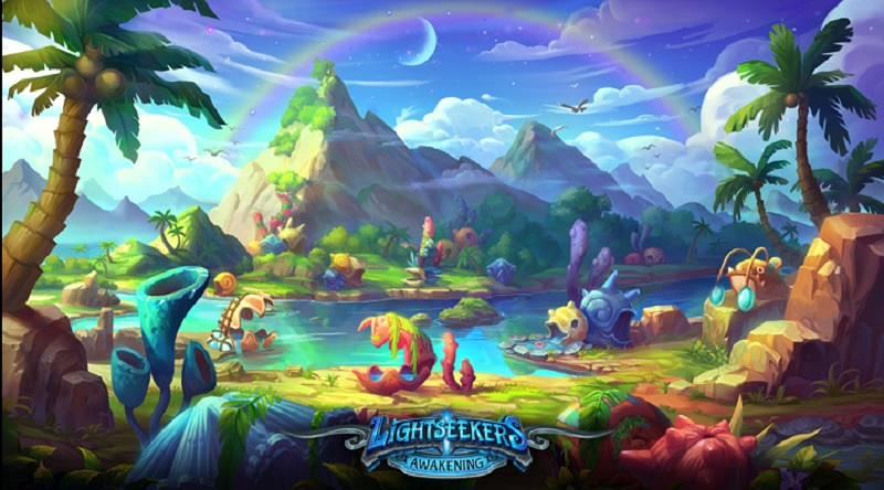 The world of Lightseekers.