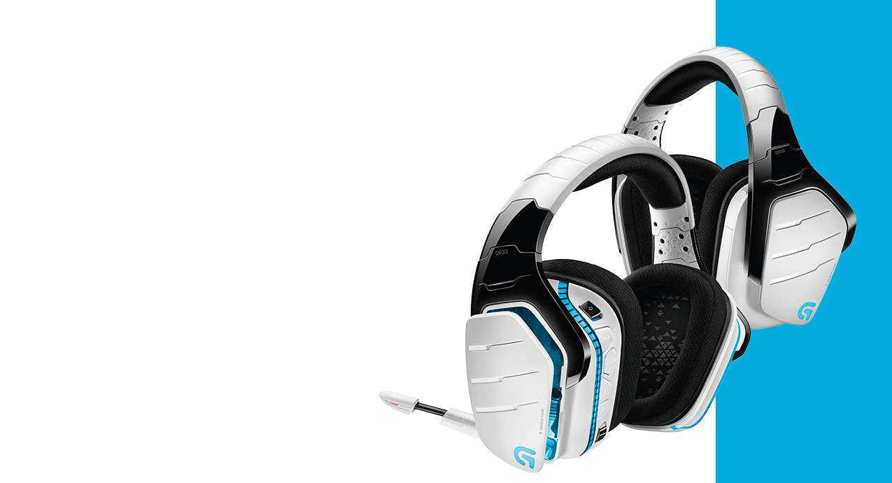 Logitech's G933 Artemis Spectrum Snow is one of the best all