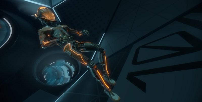 Multiplayer in zero gravity in Lone Echo.
