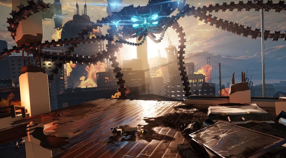 Game art created with Amazon Lumberyard game engine.
