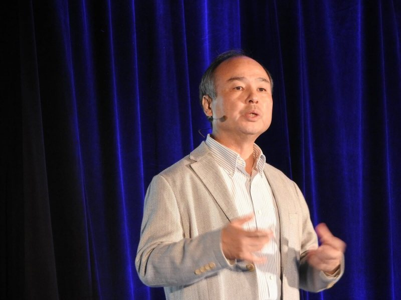 Masayoshi Son sees The Singularity coming.