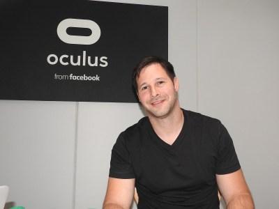 Oculus mobile VR leader leaves Facebook | VentureBeat