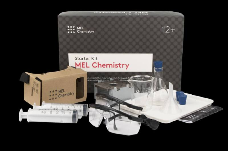 MEL Science chemistry set costs $49 a month.