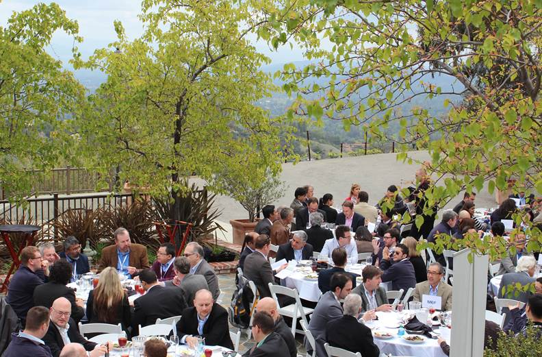 NetEvents summit at the Moutain Winery in Saratoga, Calif.