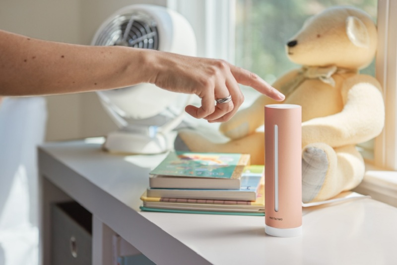 Netatmo's Healthy Home Coach offers advice on clearing your air.