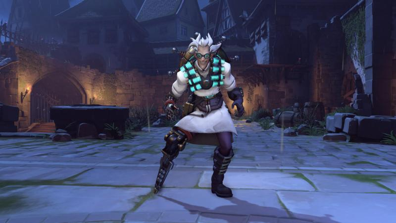 Junkrat's Overwatch outfit for Halloween.