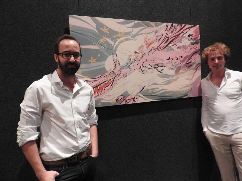 Saschka Unseld (left) and Edward Saatchi of Oculus Story Studios.
