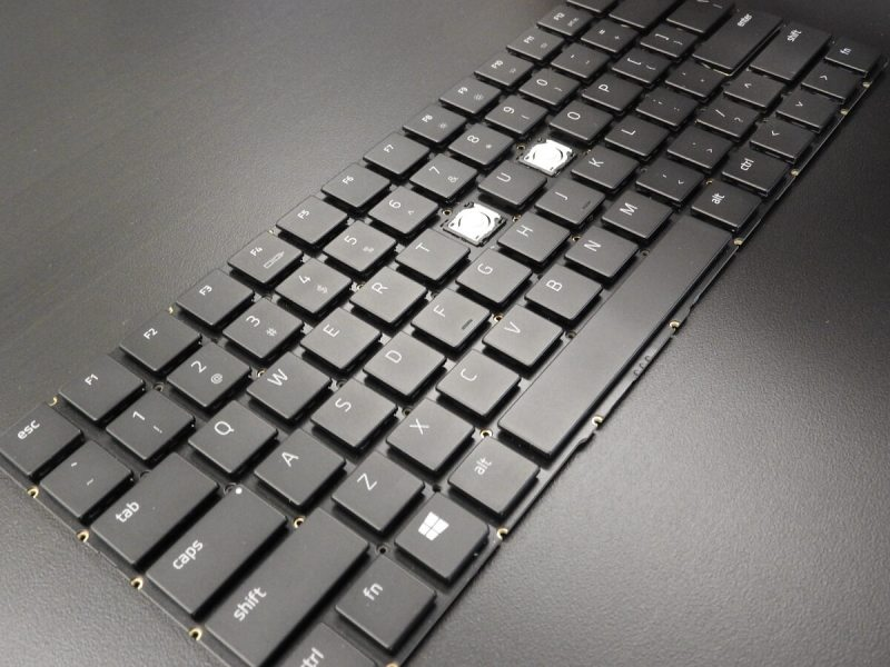 Razer Blade Pro keyboard