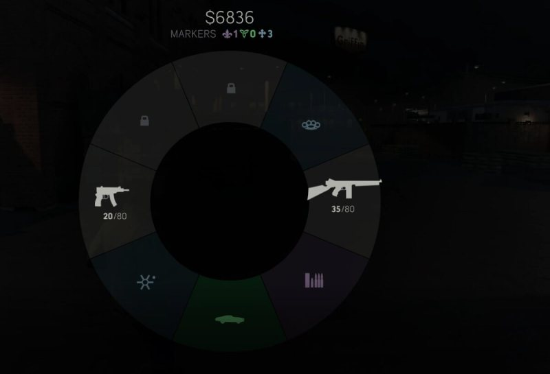 This quick-access wheel saves a lot of time in Mafia III.