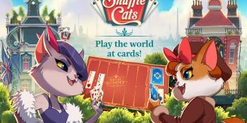 King launches live multiplayer card mobile game Shuffle Cats