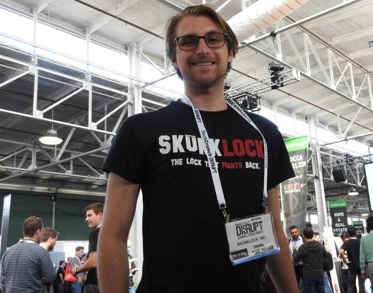 Daniel Idzkowski, cofounder of SkunkLock.