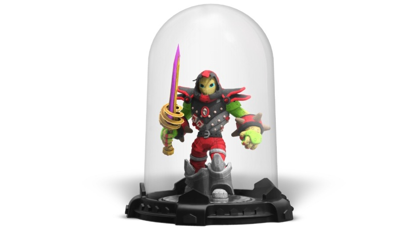You can now custom 3D print your own Skylanders character.