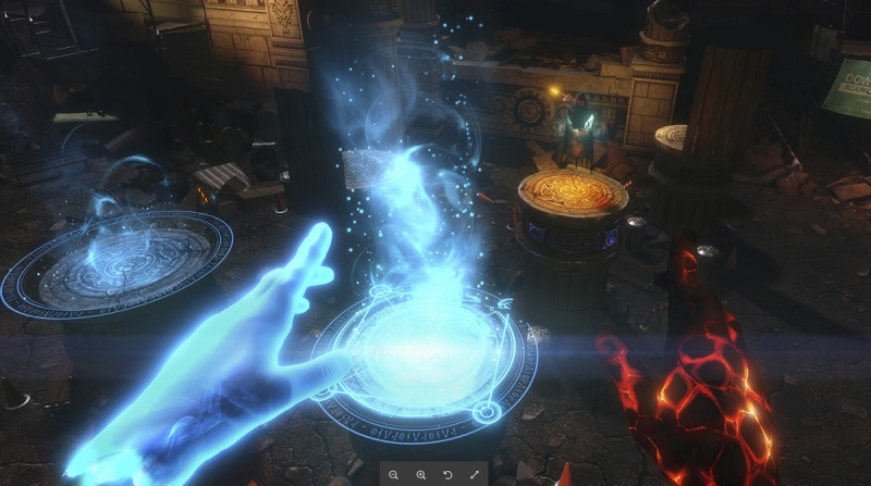 The Unspoken is a spell dueling game.