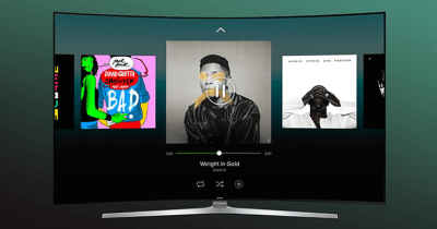 Spotify opens Samsung TV app to free members, but only on newer