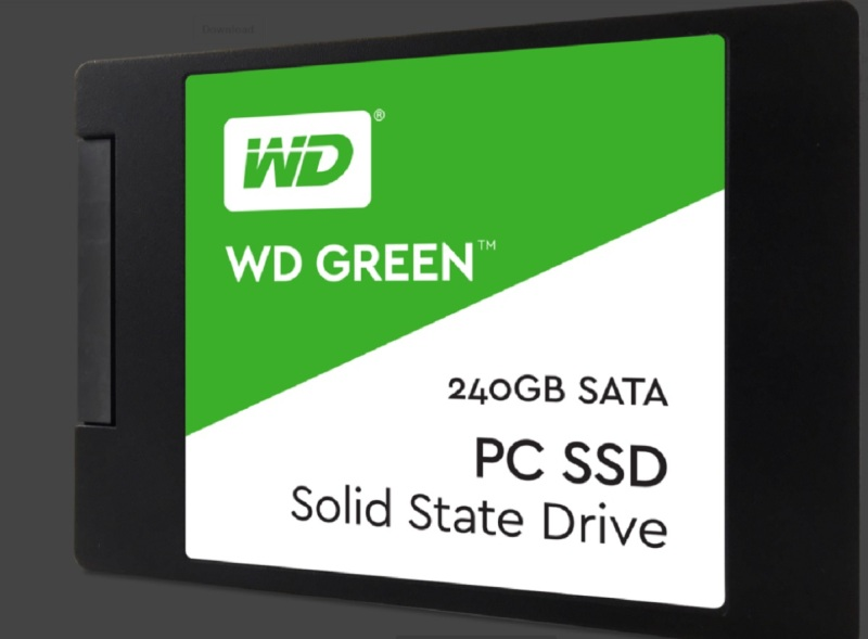 WD Green SSDs have a low-power footprint.