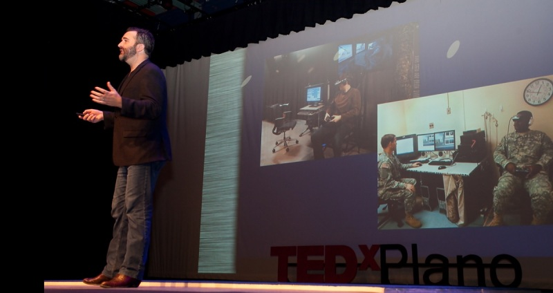 Will Rosellini gave a TED talk on going beyond human.