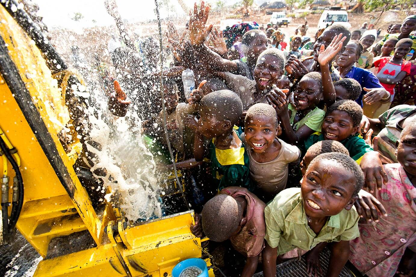 Charity:Water well in Malawi