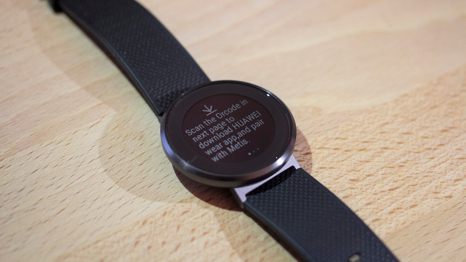 The Huawei Fit, a fitness watch