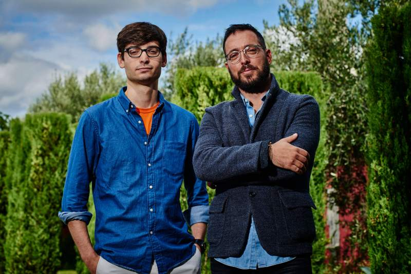 Kano co-founders Alex Klein, left, and Yonatan Raz-Fridman.