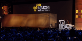 AWS now offering trucks to move your data to its cloud
