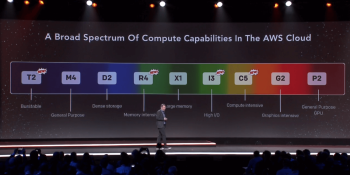 AWS launches elastic GPUs for EC2, FPGA-backed F1 instances, R4 and refreshed T2, C5 and I3 coming in Q1