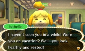 No! Don't look at me, Isabelle! You're so pure and kind, and you should hate me!