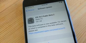 Apple releases iOS 10.2 public beta 2