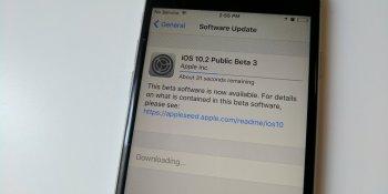 Apple releases iOS 10.2 public beta 3