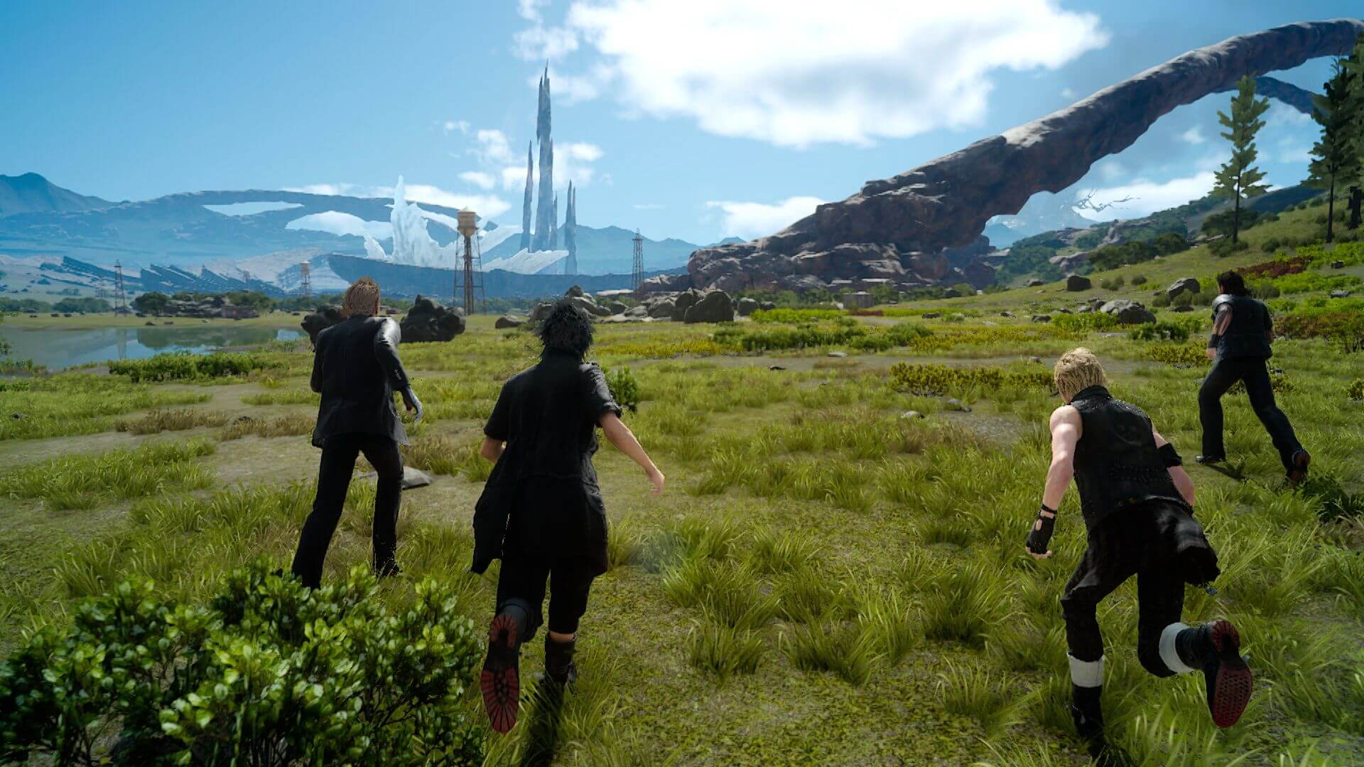 There's a lot to explore in Final Fantasy XV.