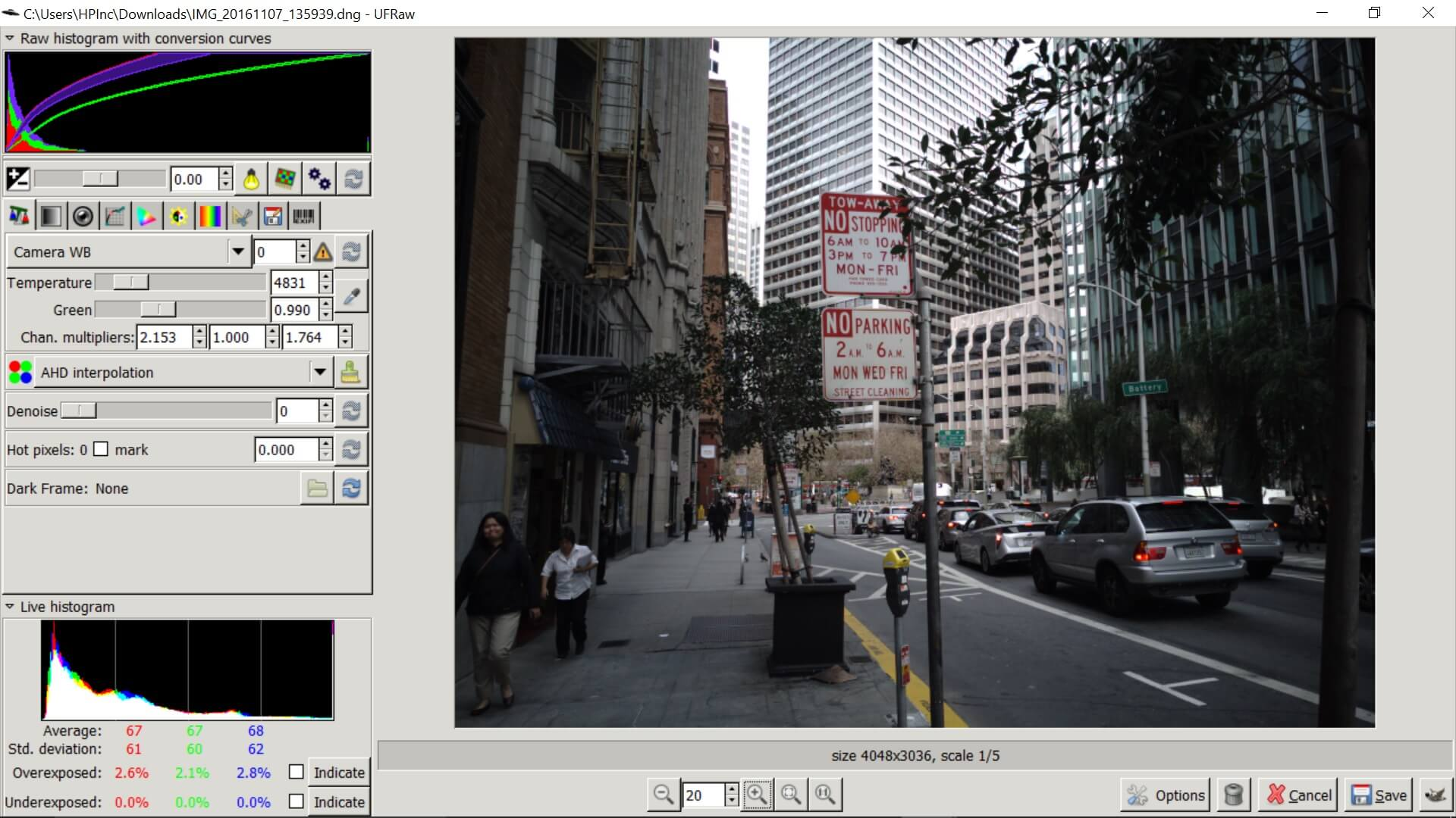 How to shoot full-resolution photos in RAW on the Google