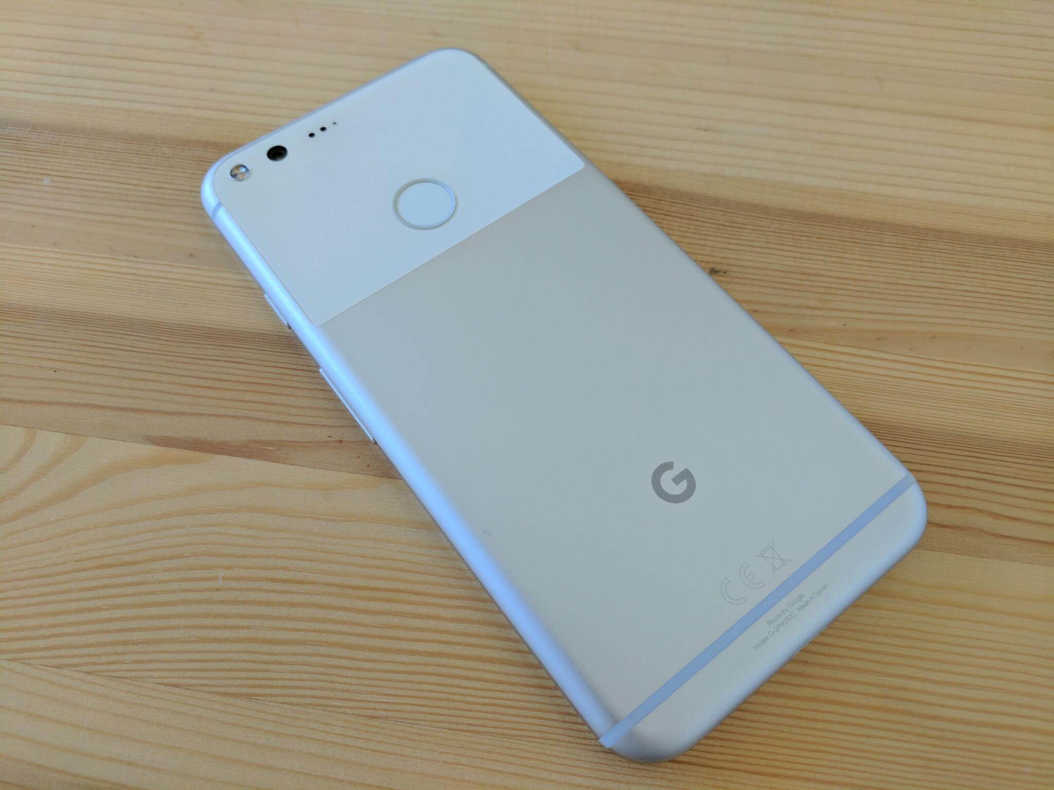 The Google Pixel XL.