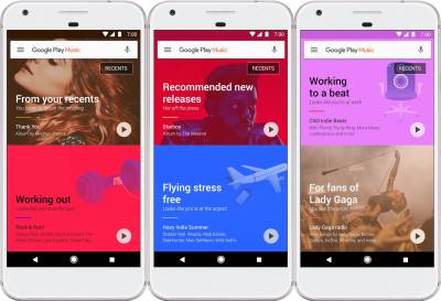 Google revamps Play Music with optional recommendations