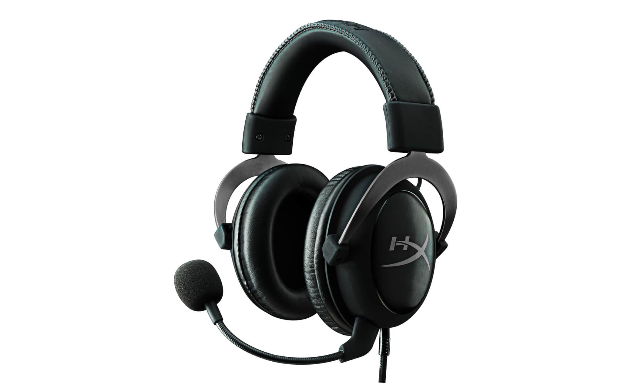 The HyperX Cloud II gaming headset.