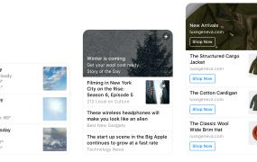 New list templates for Facebook Messenger
