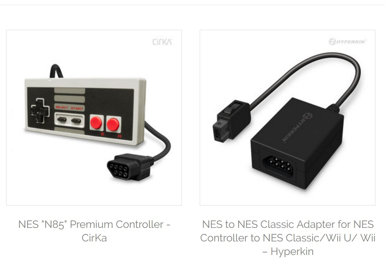 Spiele Hyperkin Nes Controller To Nes Classic Edition Adapter