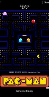You can play Pac-Man in Facebook Instant Messenger -- but you might find some lag.