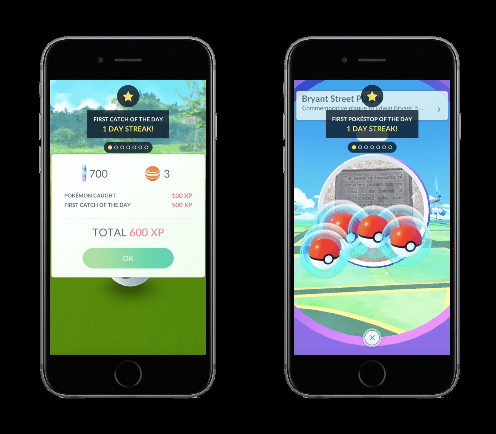 Bonuses are live in Pokémon Go.