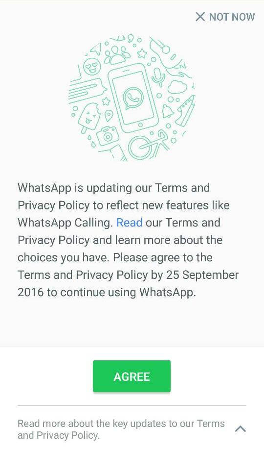 WhatsApp: Opt-out?
