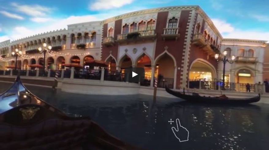 Vegas VR app