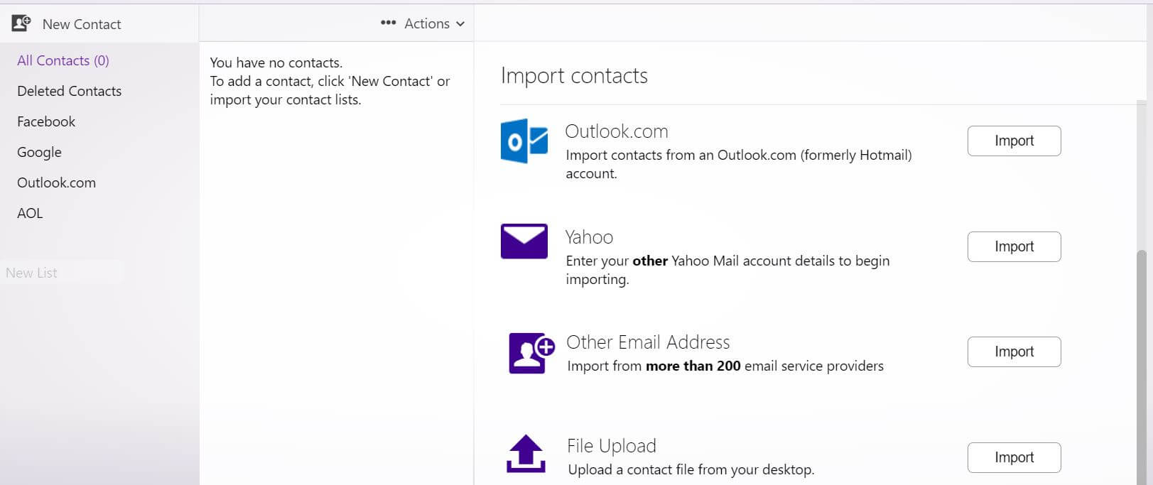Yahoo Mail now lets you import contacts from more than 200 email