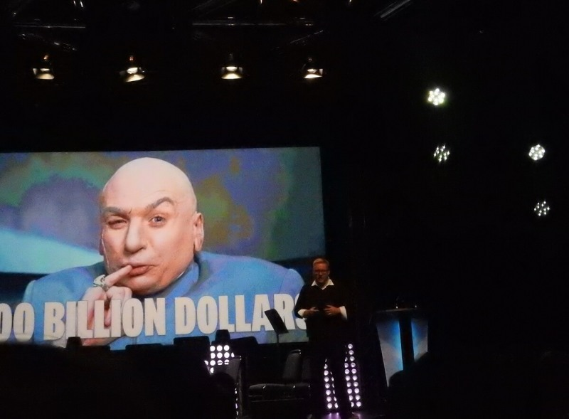 """Adam Boyes says the game industry is """"a hundred billion dollars!"""""""