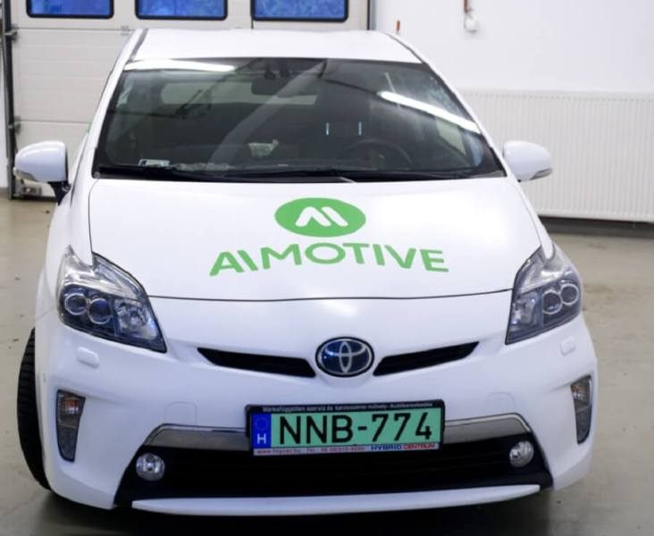 AImotive demos recognition software for self-driving cars