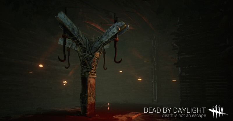 Don't get caught on a meat hook in Dead by Daylight.
