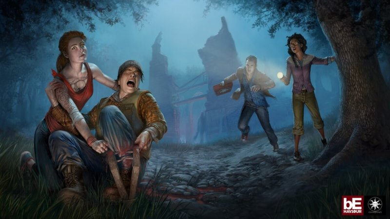 Killers can lay traps for humans in the asynchronous multiplayer game Dead by Daylight.