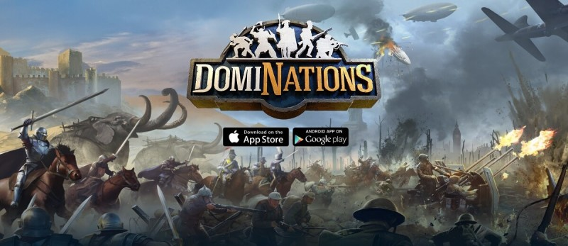DomiNations has a new atomic age update.